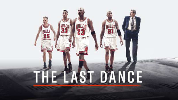 The+cover+photo+for+%22The+Last+Dance%22+shows+players+Steve+Kerr%2C+Scottie+Pippen%2C+Michael+Jordan%2C+and+Dennis+Rodman+with+coach+Phil+Jackson.+The+new+hit+documentary+shows+the+life+of+basketball+legend+Michael+Jordan+and+his+journey+to+winning+six+NBA+titles+with+the+Chicago+Bulls.%0A