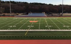Navigation to Story: Students begin to use turf fields despite them still being closed