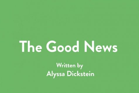 In these days, we are all in desperate need of some good news. So, join WSPN's Alyssa Dickstein as she shines light on one piece of cheerful news every week.