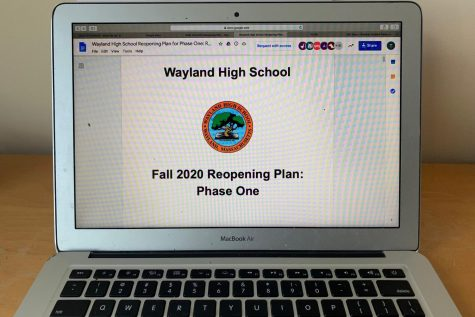 On Aug. 31, Wayland High School Principal, Allyson Mizoguchi, sent out an email to WHS families detailing the reopening plan for the fall of 2020.