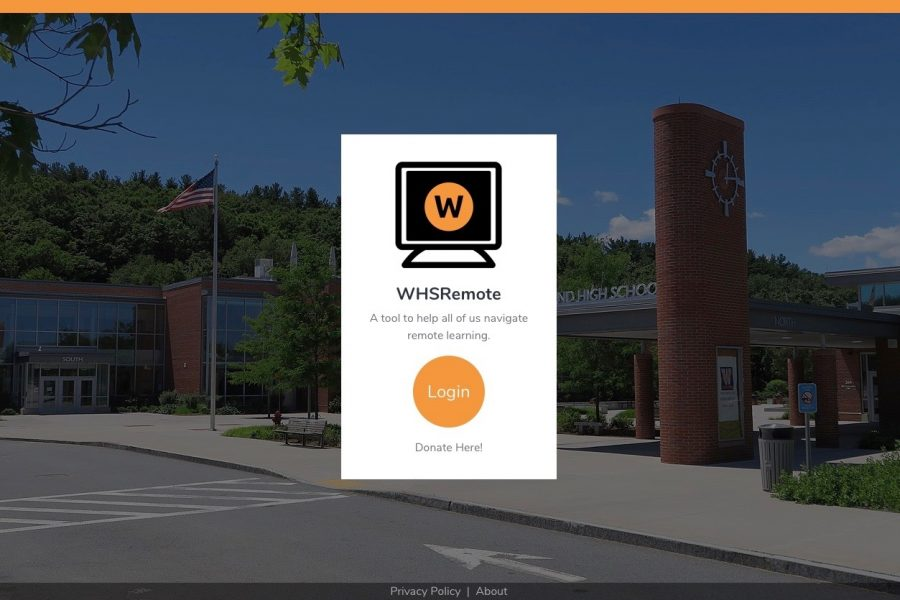 Wayland High School senior Mingle Li has created a website called WHSRemote in hopes of helping students stay organized during this time of remote learning.