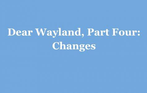 Part Four: Changes
