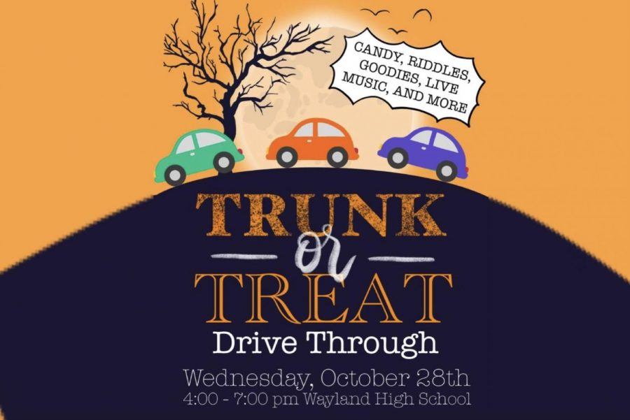 Tri-M Music Honor Society to hold Trunk-or-Treat drive through