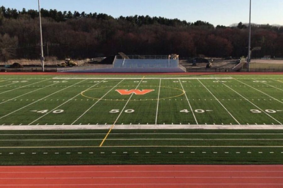 With+the+new+turf+available+for+the+fall+season%2C+many+teams+have+experienced+playing+on+the+new+field.+Players+on+both+boys+and+girls+varsity+soccer+and+varsity+field+hockey+are+pleased+with+the+new+turf.+%22I+love+the+turf%21+The+old+turf+was+injuring+so+many+people+because+it+was+low+quality%2C%22+junior+field+hockey+player+Maeve+Myles+said.+%22I%E2%80%99m+glad+they+redid+it.%22