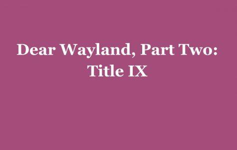 Part Two: Title IX
