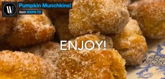 Flavor! Pumpkin Munchkins
