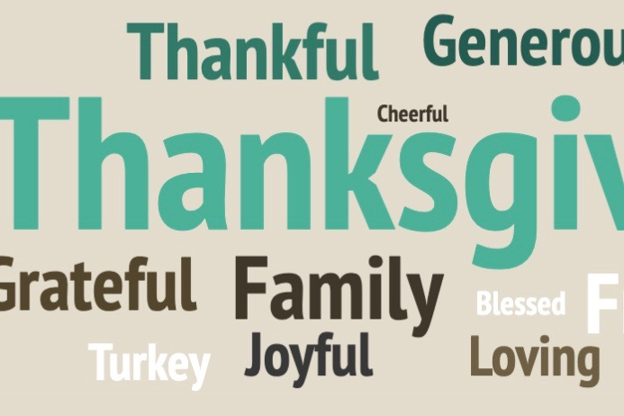 """WHS students share what Thanksgiving means to them through their favorite foods and traditions. They also share what they are thankful for this unprecedented year and which words they associate most with Thanksgiving. """"I really enjoy Thanksgiving because I get to spend time with my family while eating a big meal,"""" freshman Sophie Roman said."""