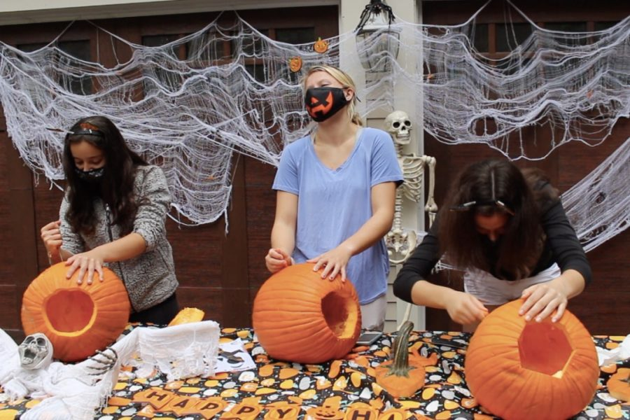 Annual Pumpkin Carving Challenge (video)