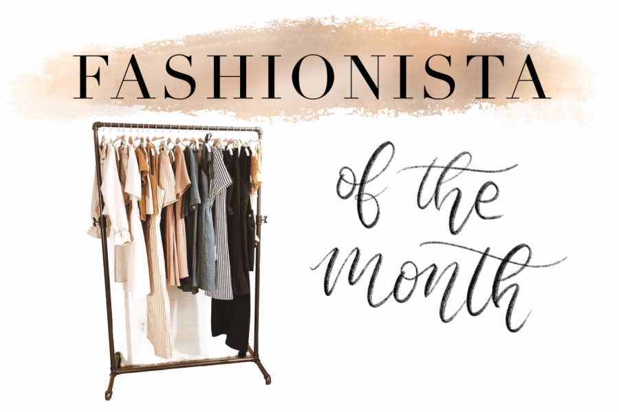 """The Fashionistas of the Month for November are juniors Ryan MaCdonald and Sofia Barris. They both encourage others to use fashion as a way to express themselves. """"My best fashion advice is to not worry about what other people think and to have confidence in what you wear,"""" Barris said."""
