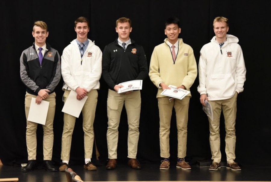 With an end to the 2020 soccer season, it becomes time to name the captains for the next season. Juniors Jonny Goldin, Jackson Dresens and Ben Chen were named captains for the 2021 boys soccer season.