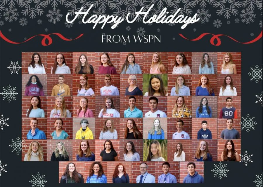Happy Holidays from WSPN!