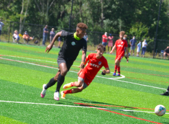 As the return of athletics for high school players brings excitement, junior club soccer player Daniel Bede feels gratitude for the allowance to play his sport for his club team. Bede is grateful to be returning back to the sport that he's been playing for for his whole life.