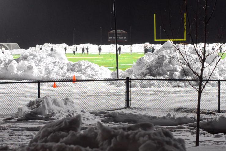 Football kicks off season with first practice (video)