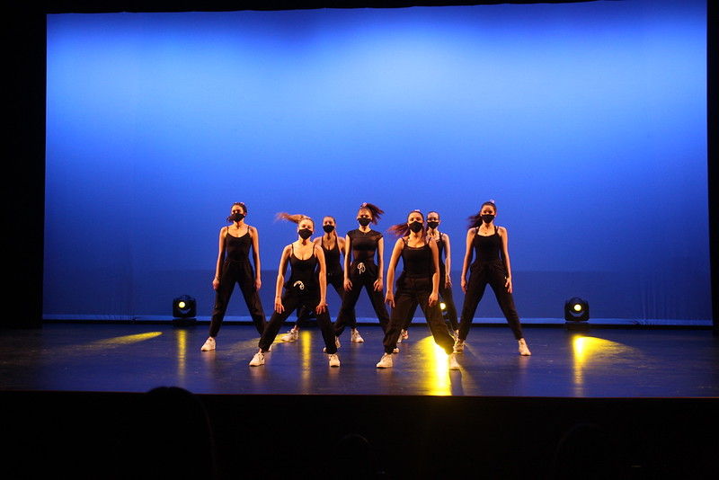 The Window Dance Ensemble performs for the final event during Winter Week 2021. They performed two jazz dances, two hip-hop dances and two contemporary dances.