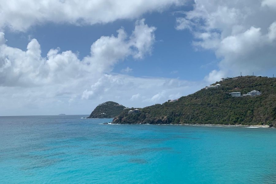 "Freshman Maggie Melander traveled to the U.S. Virgin Islands with her immediate family and cousins for February break. ""The process to go to the virgin islands was very serious,"" Melander said. ""You have to get tested a couple of days prior to your trip and fill out a lot of papers saying that you got tested, and [we] had to have those in hand when going through security and [to our gate]."""