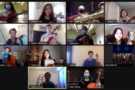 Musicians from Wayland High School