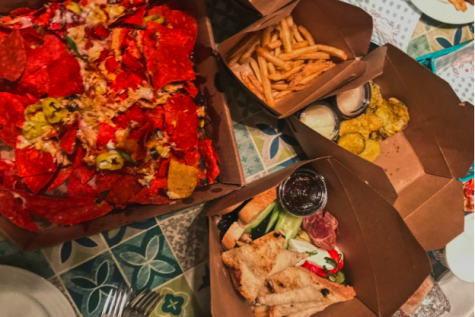 Wayland's 110 Grill offers takeout and dine in. WSPN's Sophia Oppenheim shares her and her familys insights on some of the takeout menu items.
