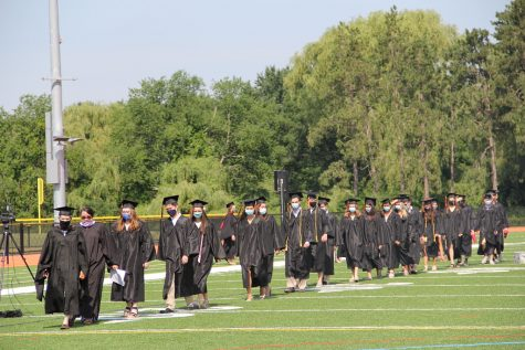 "Last year, the class of 2020 was robbed of every senior event except for graduation. Their graduation was held on July 25 and July 26 in four separate ceremonies, with family members limited in ""pods."""