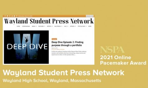 On April 10, 2021, WSPN was presented with the NSPA 2021 Online Pacemaker Award. Only 13 winners were selected out of approximately 160 online news sites.