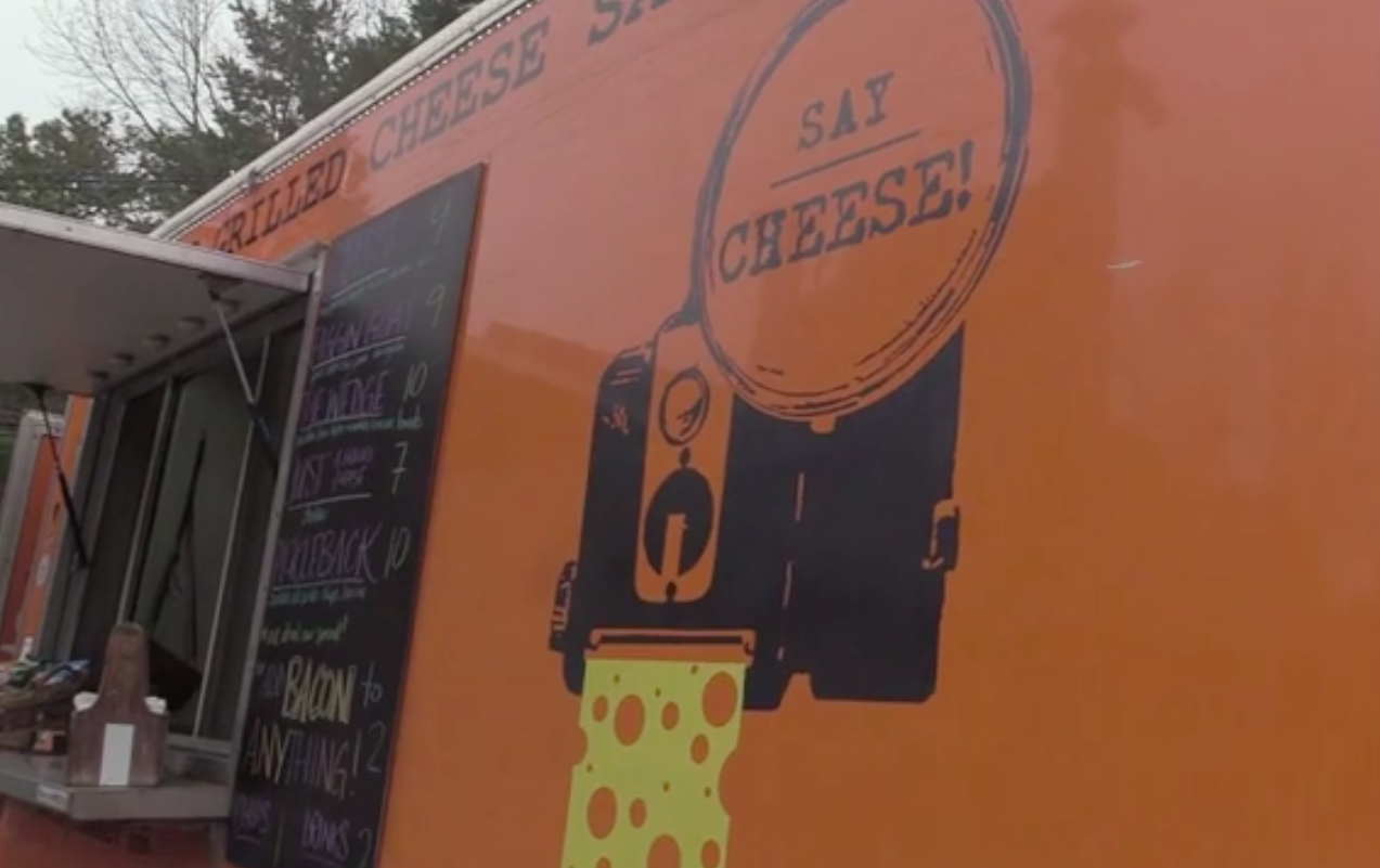 Say Cheese food truck visits Lavin