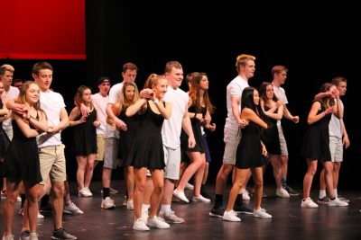 Following a Senior Show-less 2020, the class of 2021 is ready to make their comeback. The class recently elected their Senior Show Executive Board and directors, who are excited to get the process of planning started.