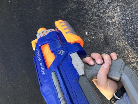"This year, Senior Assassin is looking very different. Seniors are required to use water guns to assassinate their targets to ensure that the game remains safe. ""There are also detailed rules on how someone can make an assassination, such as it has to be done with a water gun and you cannot make physical contact with your target,"" senior Meredith Prince said."