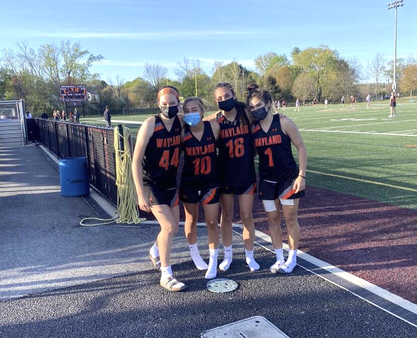 Spring sports are beginning at WHS, bringing excitement from players. Last year, the COVID-19 pandemic shut down Wayland High School along with its spring sports season.