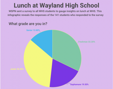 Infographic: Lunch at Wayland High School