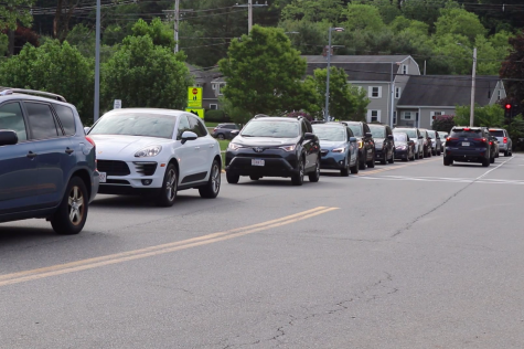 Students express concern over increased traffic (video)