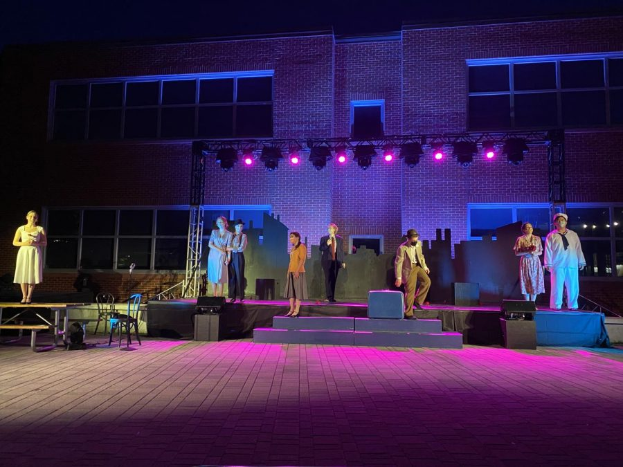 WHS theatre preforms Leonard Bernstein's New York outside on May 21, May 22 and May 23.