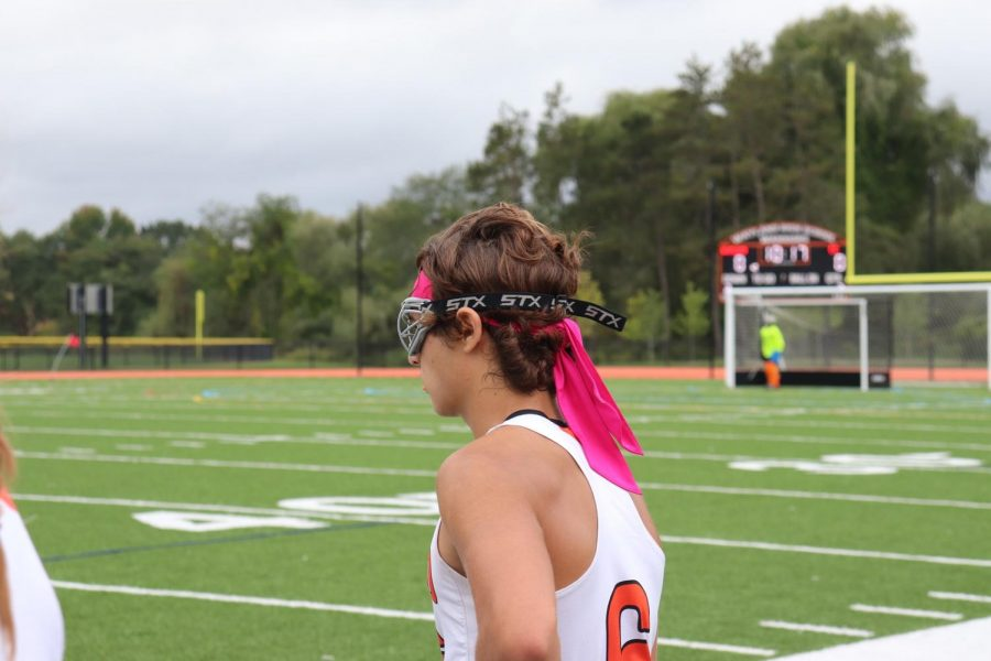 This year marks year three of boys on the varisty field hockey team. Seniors Devin DiCarlo and Thomas Balicki joined the team this year, full of excitement. Honestly, its no different than any other sport, Balicki said. The girls are very welcoming, and Devin and I are glad to be on the team.